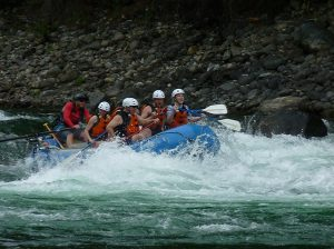 "And for those who don't get enough ""swaying"" in the RV, there is whitewater rafting in Nelson!!"