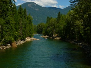 "Slocan River Morning ""Float"""